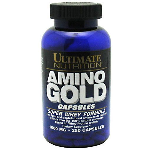 ULTIMATE - Amino Gold 1000 мг (250 капс)