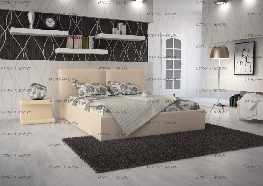 Кровать Scandinavia №1 с подъемным механизмом