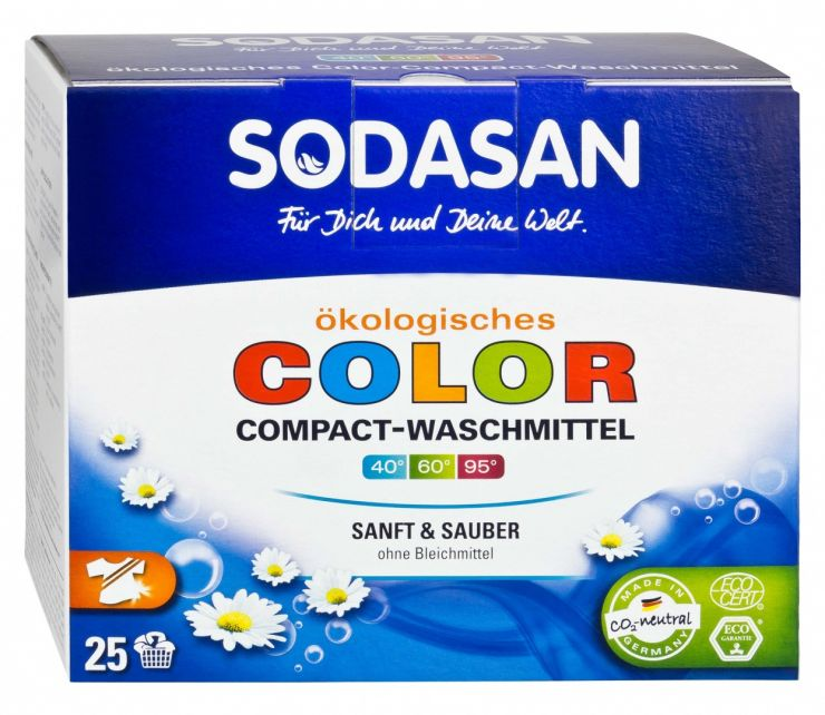 SODASAN Порошок-концентрат для стирки изделий из цветных тканей 1,2 кг