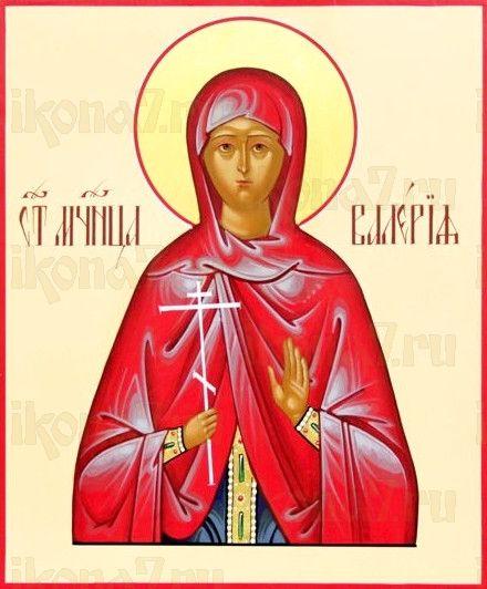 Икона Валерия Кесарийская (рукописная)