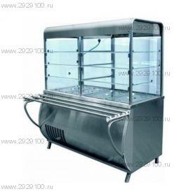 Прилавок-витрина холодильный ПВВ(Н) 70М-С-НШ