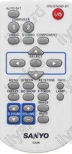 SANYO CXZR, PLC-XK3010, PLC-XR2200