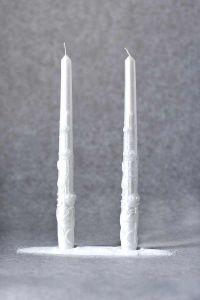 Свеча Родительская пара №3 (белый)
