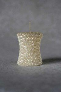 Свеча «Свадебная малая №1» (бежевый)