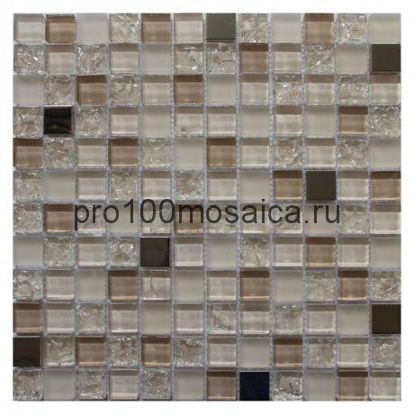 Jasmin. Мозаика серия GLASS, размер, мм: 295*295*8 (ORRO Mosaic)