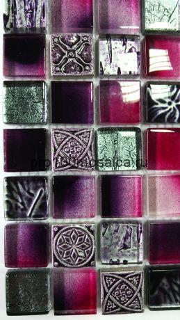 Krokus. Мозаика серия GLASSTONE,  размер, мм: 295*295*8 (ORRO Mosaic)