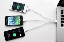 Кабель для зарядки телефона  3 в  1