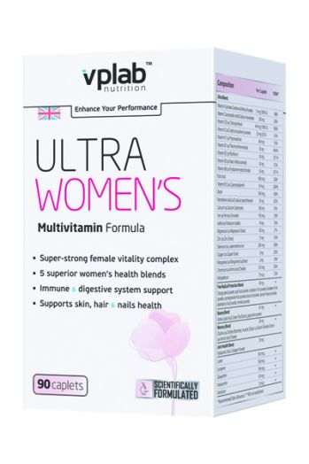 VPLAB Ultra Women's Multivitamin Formula 90 капс.
