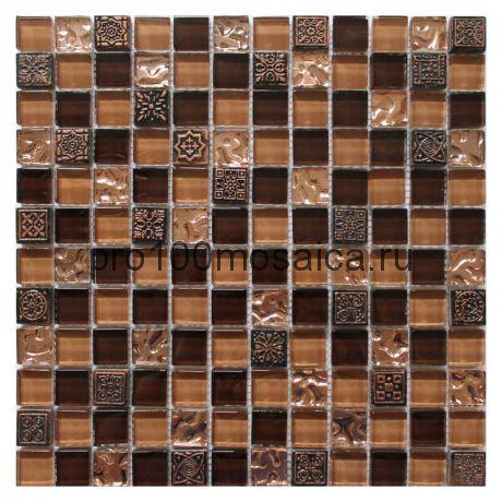 Ankara. Мозаика серия GLASSTONE,  размер, мм: 295*295*8 (ORRO Mosaic)