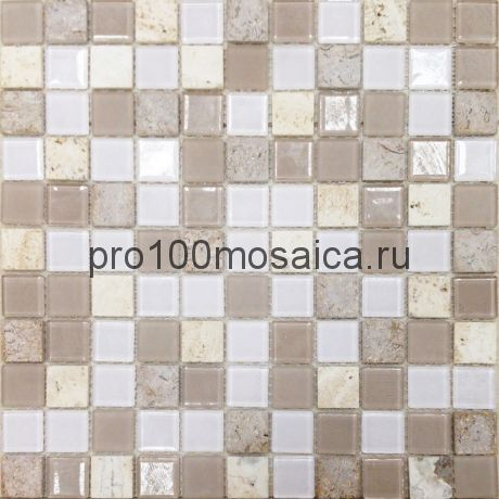 CAPRI. Мозаика серия GLASSTONE,  размер, мм: 295*295*4 (ORRO Mosaic)