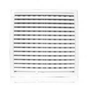 Решетка вентиляционная с регулируемым живым сечением, разъемная 150х150