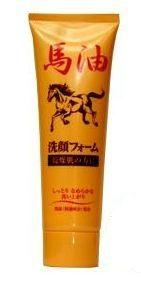 Пенка для умывания очень сухой кожи Horse Oil Facial Junlove