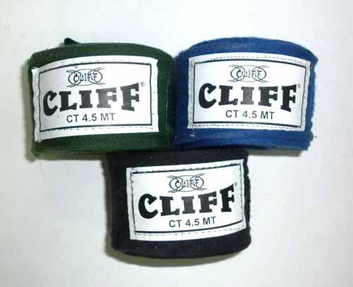Бинт боксерский CLIFF, 4.5м, Пакистан