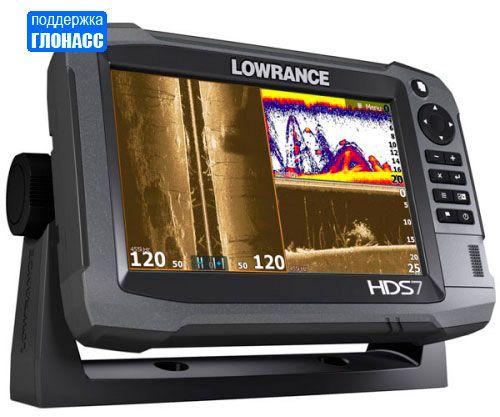 Эхолот-навигатор Lowrance HDS-7 Gen3