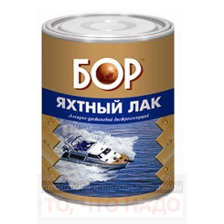 БОР Лак алкидно-уретановый ЯХТНЫЙ глянцевый
