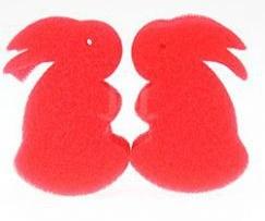 Губки (спонджи) 2 маленьких кролика