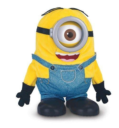 Плюшевая анимационная игрушка Миньон Стюарт-акробат