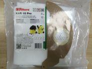 Пылесборник-мешок KAR 10 (4) Pro, для пром. пылесосов (Filtero) разм-430x210 mm, до 12 л.