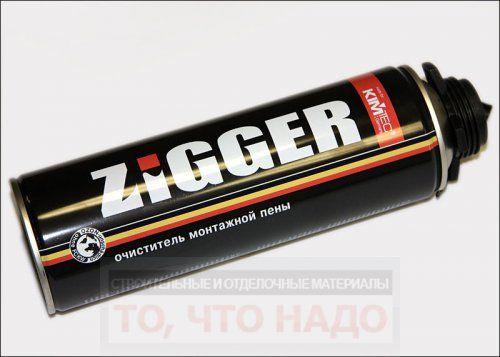 Очиститель монтажной пены ZIGGER
