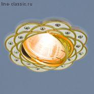Точ/светильник ES 8006 MR16 SL/GD серебро/золото