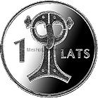 Латвия 1 лат 2007 Сова (Сакта)