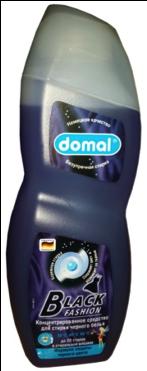 Domal Универсальное концентрированное жидкое моющее средство для стирки чёрных и тёмных вещей и джинсов 750 мл