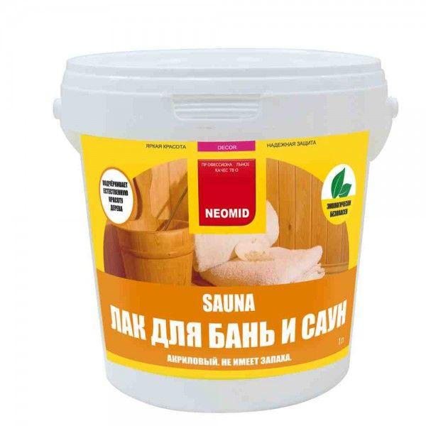 НЕОМИД Лак Сауна антисептический 1л.
