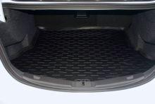 Коврик (поддон) в багажник, Aileron, полиуретан, черный с бортиками