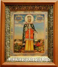 Ольга, княгиня (19х22), светлый киот