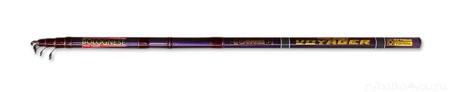 Удочка болонская ( с кольцами) Kosadaka Voyager Tele Bolognese 4.2 м  - купить со скидкой