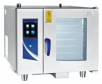 Пароконвектомат бойлерный программируемый с автоматической мойкой ПКА 6-1/1ПП2