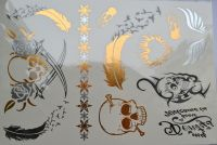 Flash tattoo (флэш тату) для боди-арта S26