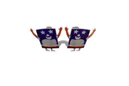 Веселые карнавальные очки