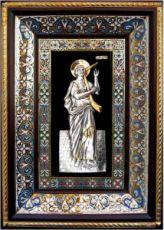 Давид, царь (29х40), серебро