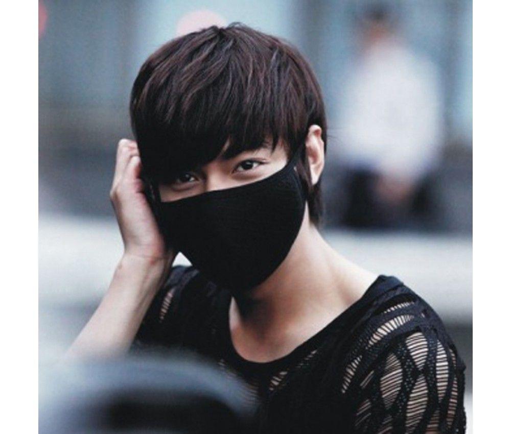 K-pop маска чёрная