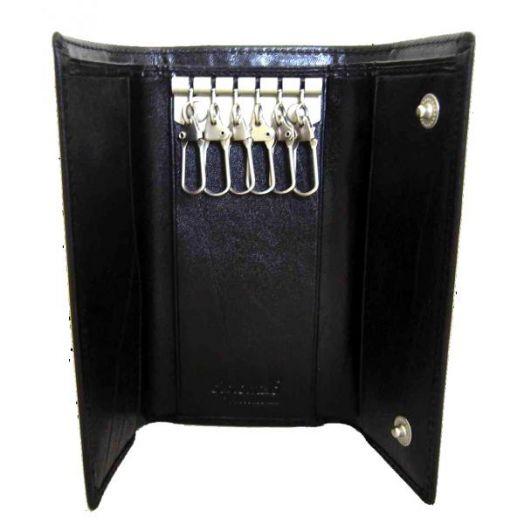 Ключница-кошелёк, большая Diplomat (черный)
