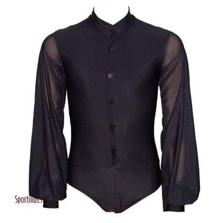 Рубашка для танцев латина черная
