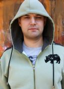 Мужская толстовка с капюшоном