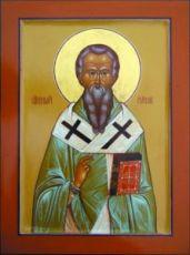 Евгений Херсонесский (рукописная икона)