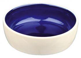 TRIXIE  Миска керамическая c синим дном (0,25 л)