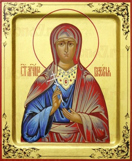 Икона Виктория Эфесская (рукописная)