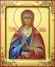 Виктория Эфесская (рукописная икона)