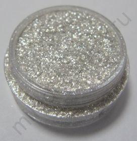 Пигмент косметический перламутровый P03 белый с серебряным блеском