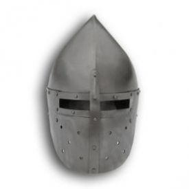 """Шлем """"Фригийский колпак"""" с забралом. Вариант №1."""
