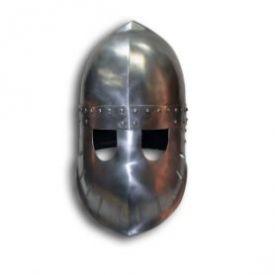 """Шлем """"Фригийский колпак"""" с забралом. Вариант №3."""