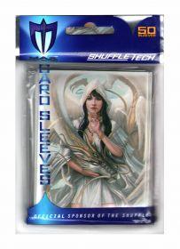 """Протекторы """"Белая девушка и белый дракон"""" """"MAXprotection"""", 66,5 х 91,2 мм, 50 штук."""