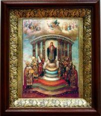 София - Премудрость Божия (19х22), темный киот