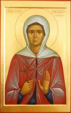 Икона Елизавета Куранова (рукописная)