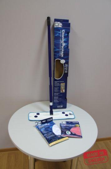 Smart Microfiber Швабра подарочная (2 насадки + салфетка 32 х 31 см)