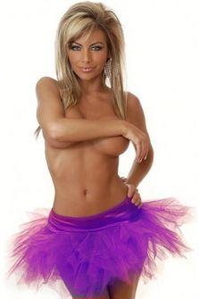 Фиолетовая юбка пачка